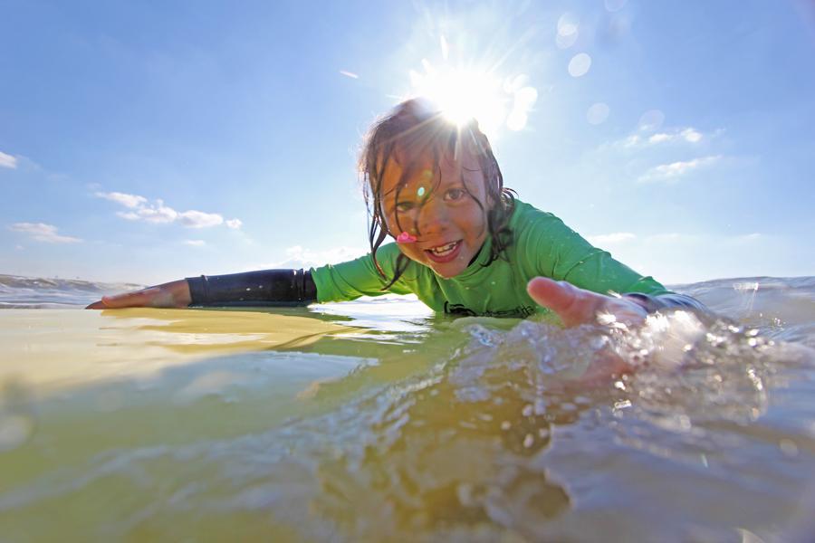 Kinderfeestje Surfen