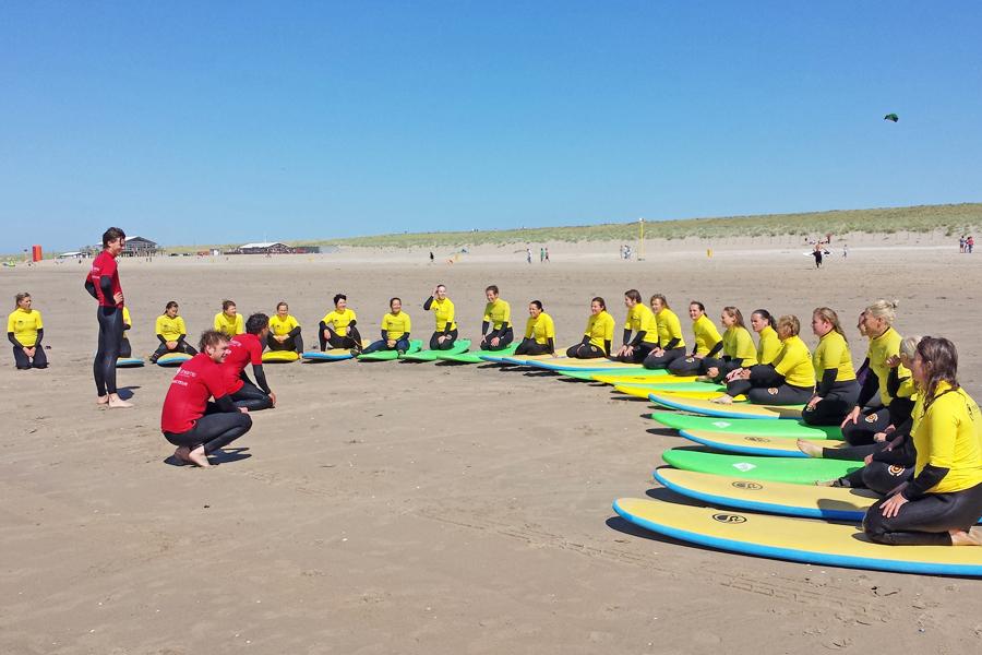 zee/actief surfen