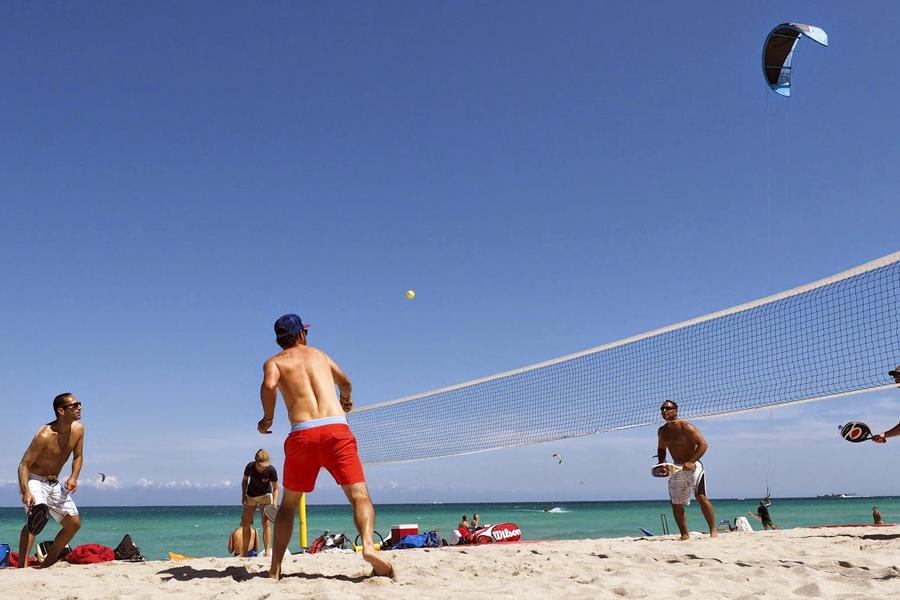 activiteiten beach games tennis