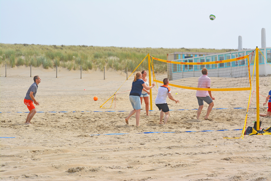 activiteiten beach games volley