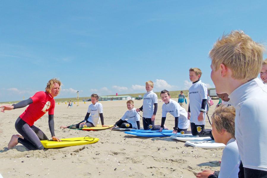 activiteiten zee/actief bodyboarden