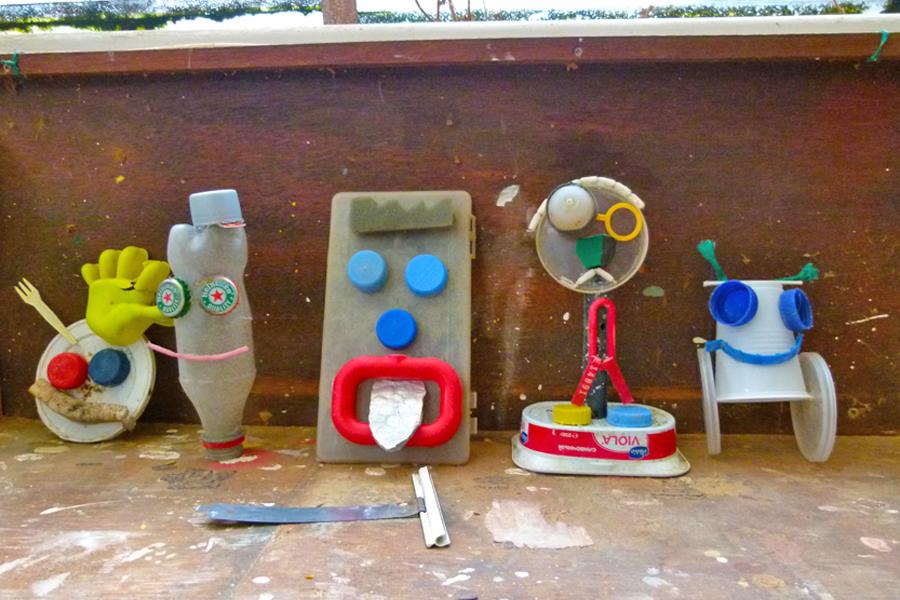 activiteiten creatief beach art