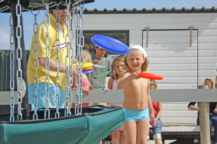 activiteiten beach games discgolf