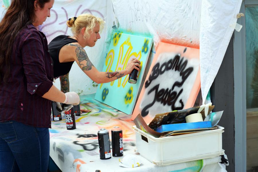 activiteiten creatief graffiti art