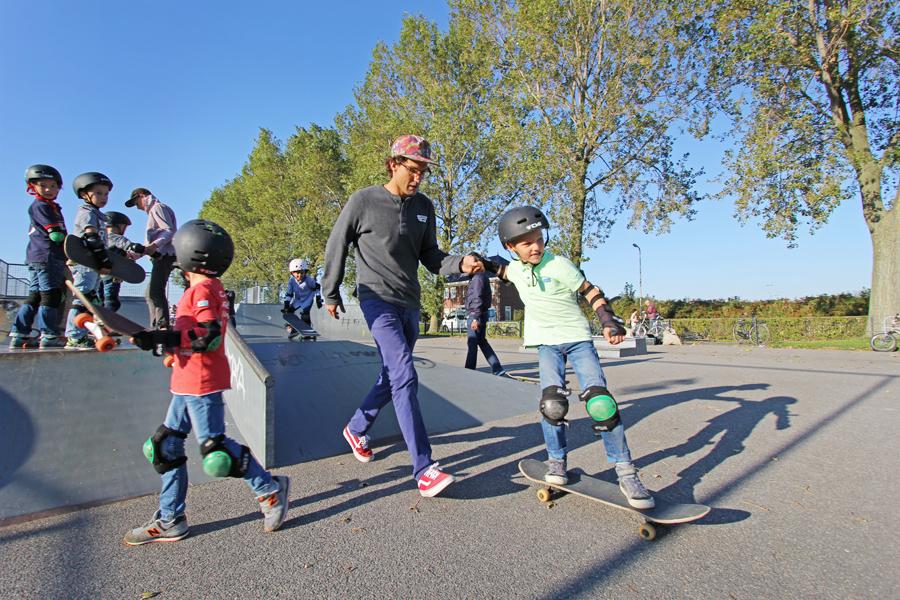 straat sportdag basisschool