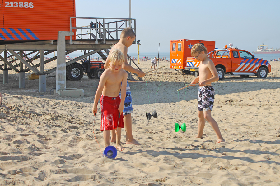 kinderfeestje jongleren