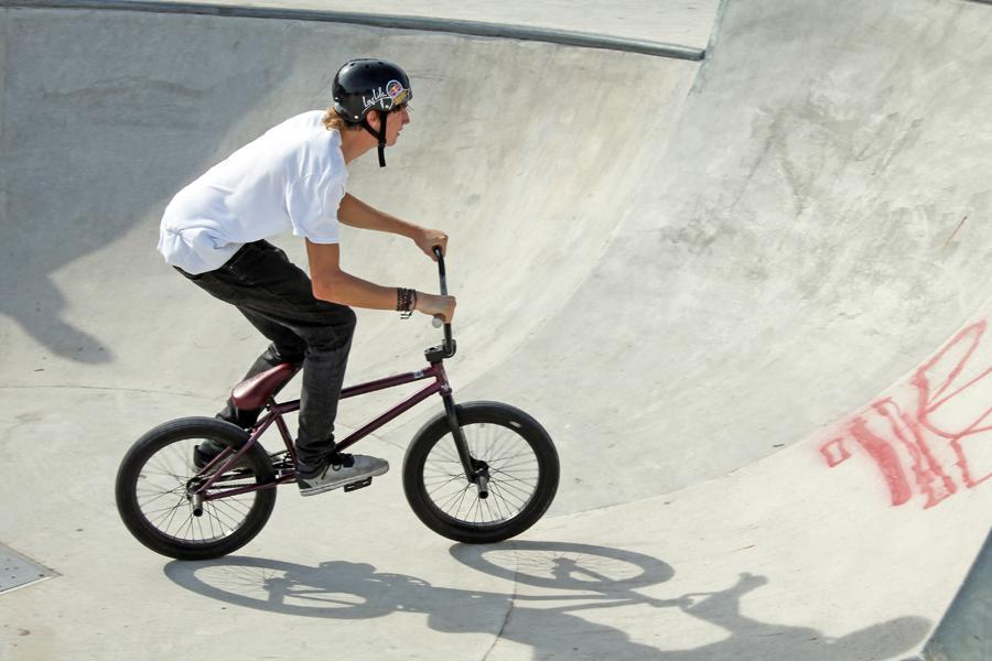 activiteit sport/actief bmxen