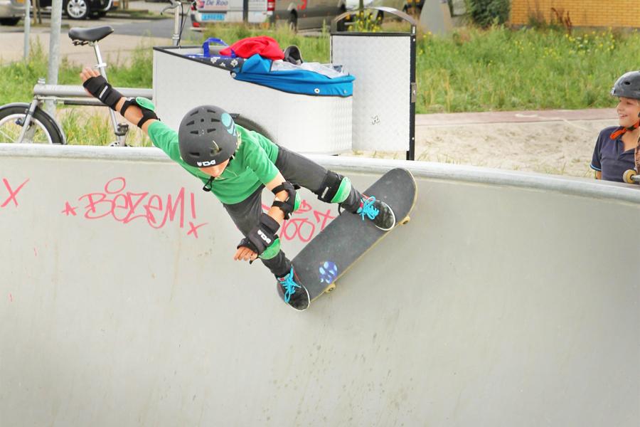 kinderfeestje skateboarden