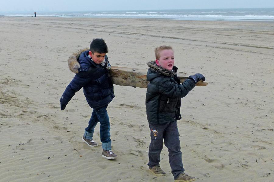 kinderfeestje strandjutten