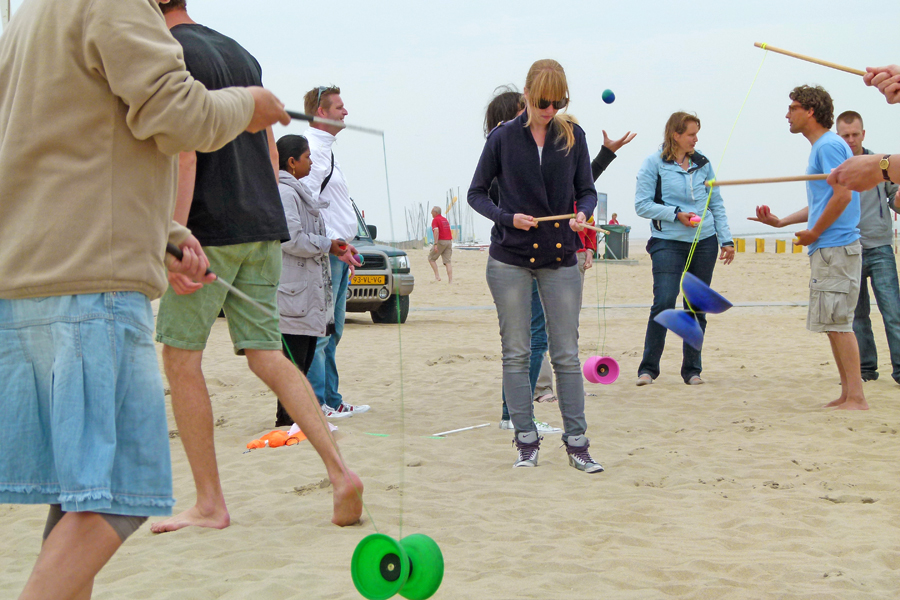 activiteiten spel jongleren