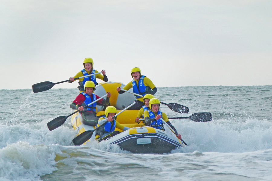 activiteiten zee/actief raften