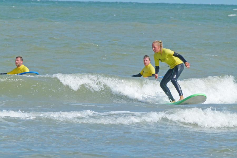 activiteiten zee/actief golfsurfen